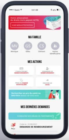 Appli mobile APICIL